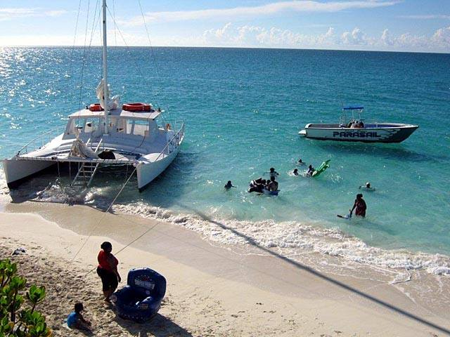 Turks and Caicos catamaran tours