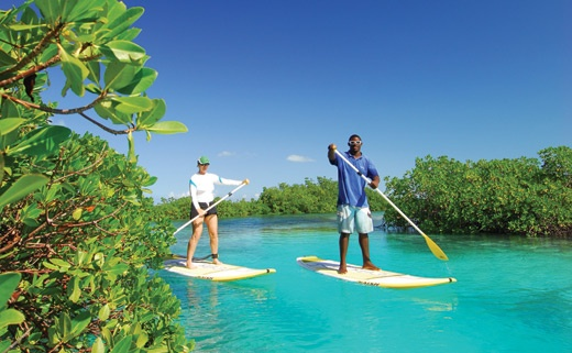 SUP on Providenciales