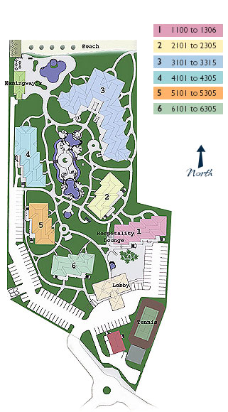 Site plan: The Sands at Grace Bay, Turks & Caicos resort