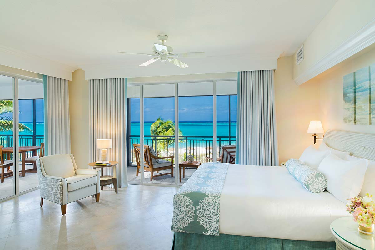 The Sands at Grace Bay, a beautiful hotel in the Turks & Caicos.