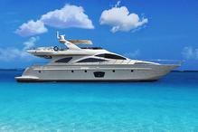 Azimut 80 Luxury Yacht. Charter for a day or a week...