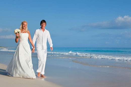 When it comes to a romantic beach wedding it 39s not surprising that so many
