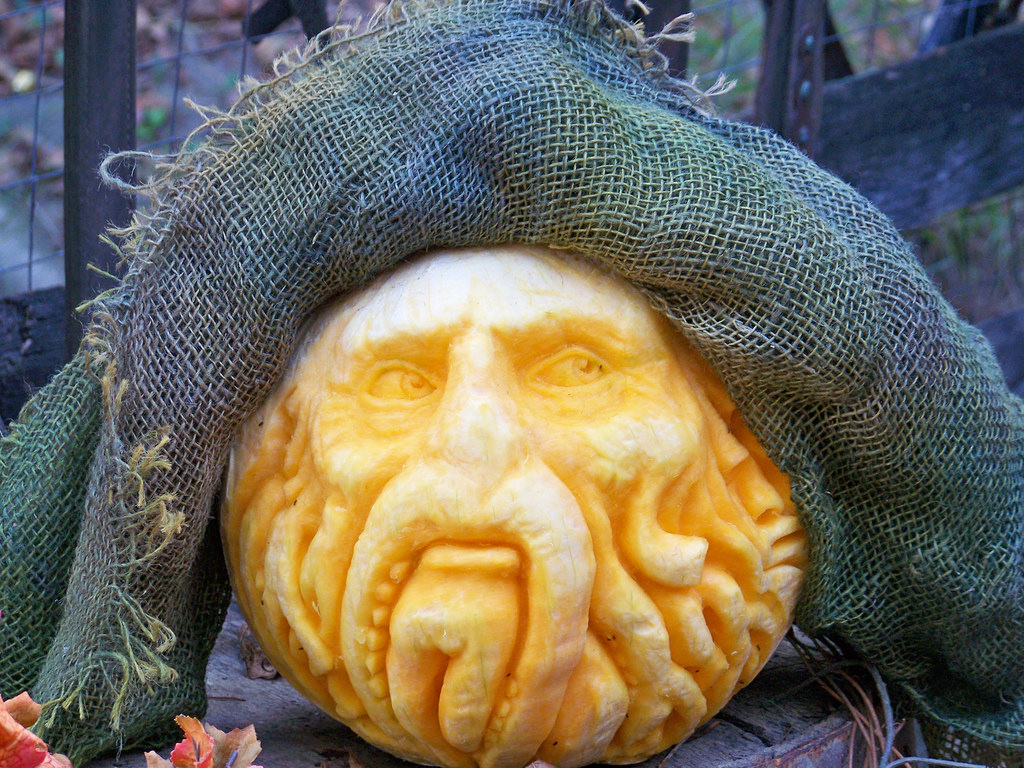 Davy Jones Pumpkin