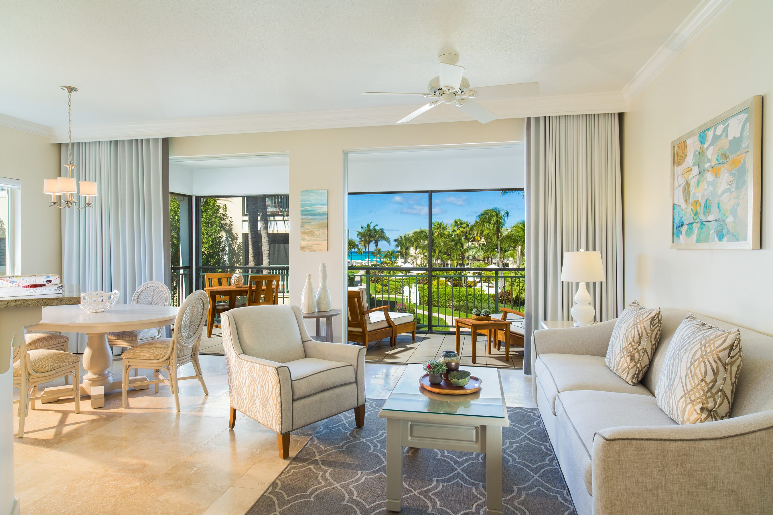 Spaious Suites at The Sands at Grace Bay
