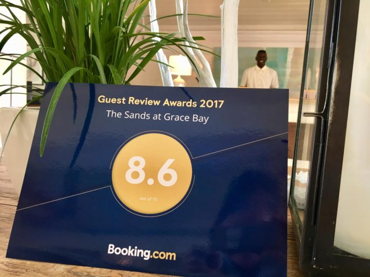 The Sands at Grace Bay receives Booking-dot-com Guest Review Awards