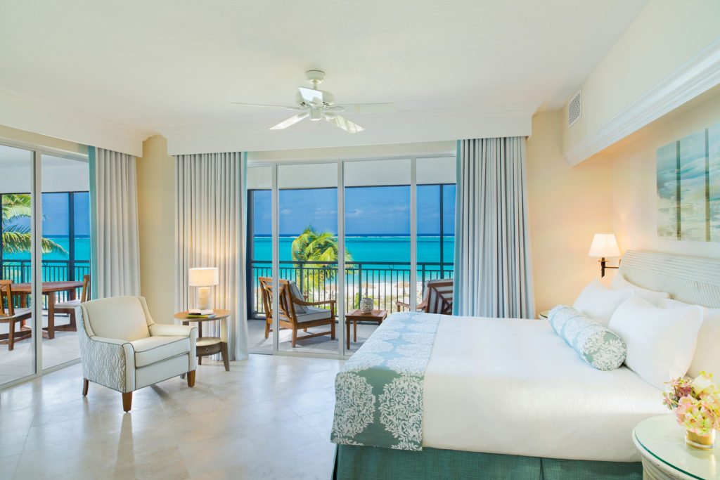 The Sands at Grace Bay Ocean Front Deluxe Master Bedroom